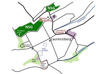 Karte Laurenziberg